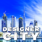 Designer City: building game icon