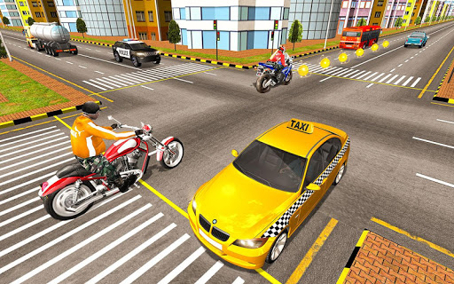 Bike Attack Race : Highway Tricky Stunt Rider 5.1.03 screenshots 3
