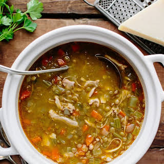 Chicken Lentil Soup.