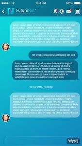 FutureNet your social app screenshot 4
