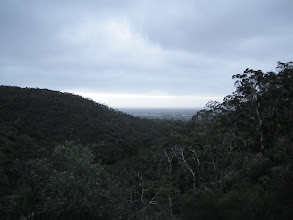 Photo: Adelaide from up in the Adelaide hills