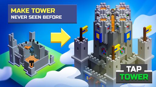 Télécharger TapTower Ralenti Constructeur De Tour APK MOD (Astuce) screenshots 1