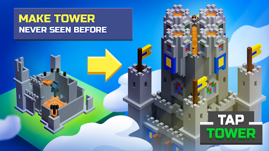 TapTower Mod Apk 1.14 (Free Shopping + Unlimited Money) 1