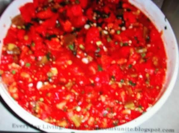 Hot Picante Sauce Recipe