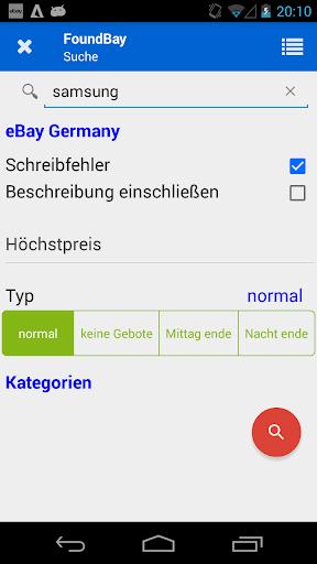 FoundBay - search ebay deals