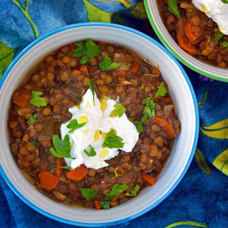 Moroccan Lentil Soup.