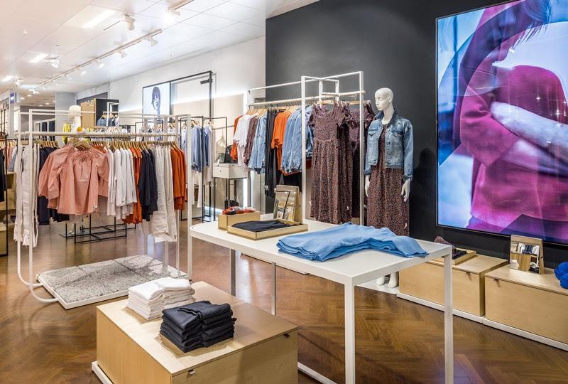 Thiết kế shop thời trang - thiết kế cửa hàng quần áo nhanh