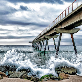 Pont del Petroli by Pepe Ros Recober - Landscapes Waterscapes