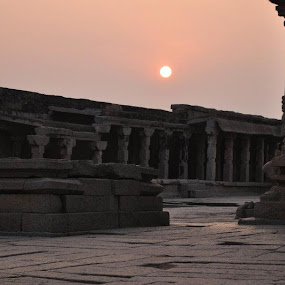 Sunset at Krishna Temple.. by Laiqur Rahman - Buildings & Architecture Public & Historical