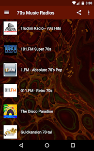 70s Music Radios: Disco, Funk, Oldies Songs Screenshot