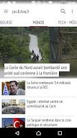 Screenshot of Les Echos - Actualités