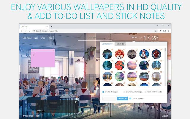 Everlasting Summer Wallpaper HD Everlasting Summer New Tab