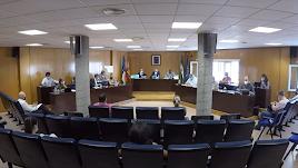 Imagen captura del Pleno de Roquetas.