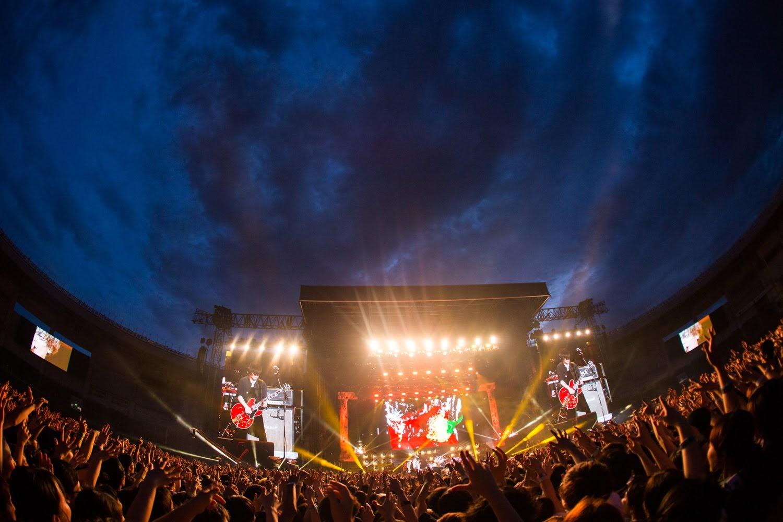 【迷迷日本現場報導】[ALEXANDROS] VIP PARTY挑戰史上最大的演出場地 三萬五千人一同大合唱<Starrrrrrr>超壯觀