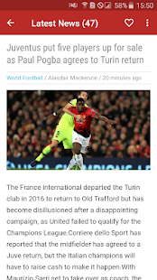 Manchester United News - Man United Daily News for PC-Windows 7,8,10 and Mac apk screenshot 1