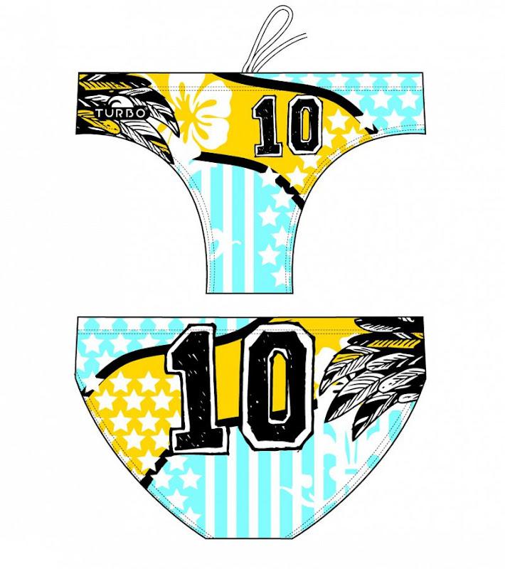Turbo Waterpolo Suit Junior ARGENTINA 10 - 7989422