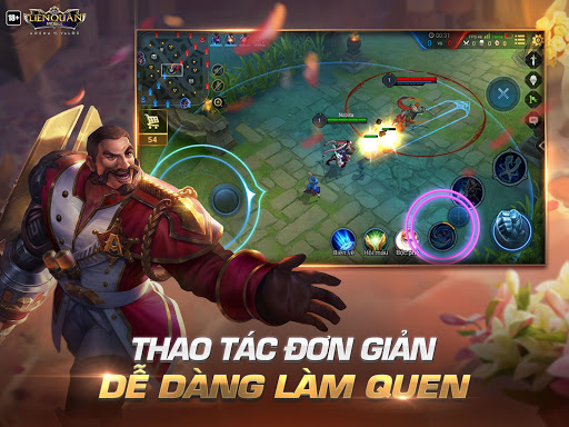 Garena Liu00ean Quu00e2n Mobile  gameplay | by HackJr.Pw 7