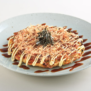 Okonomiyaki (Japanese Pancake).
