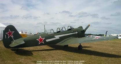Photo: Schaffen Fly in 2013 08 17 Yakovlev Yak 18A n° 1332019- OO-IAK
