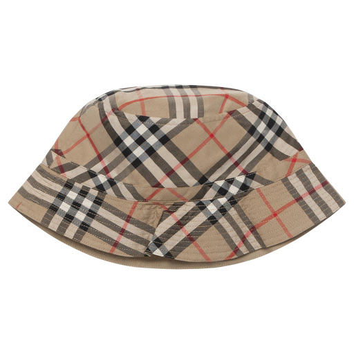 Thumbnail images of Burberry Checked Hat