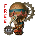 Steampunk Age Balloon HD LWP icon