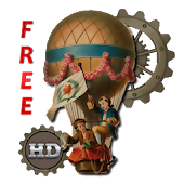 Steampunk Age Balloon HD LWP