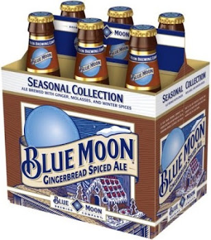 Blue Moon Gingerbread Spiced Ale - x6