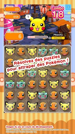 Pokémon Shuffle  captures d'écran 2
