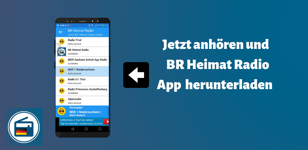 Br Heimat Radio App Deutsch Live 1 0 Apk Download Com Maqueapps Brheimatradioappdeutschlive Apk Free