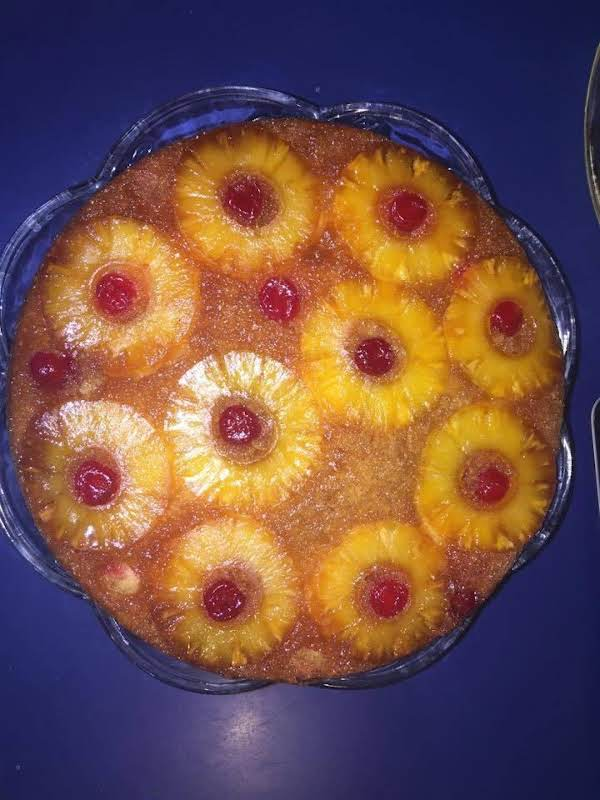 Cast Iron Pineapple Upside Down Cake Recipe