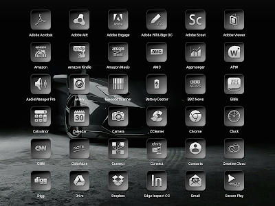 Bacca Gray - Icon Pack screenshot 14