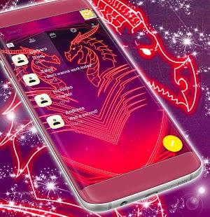 Epic SMS Neon Téma - náhled
