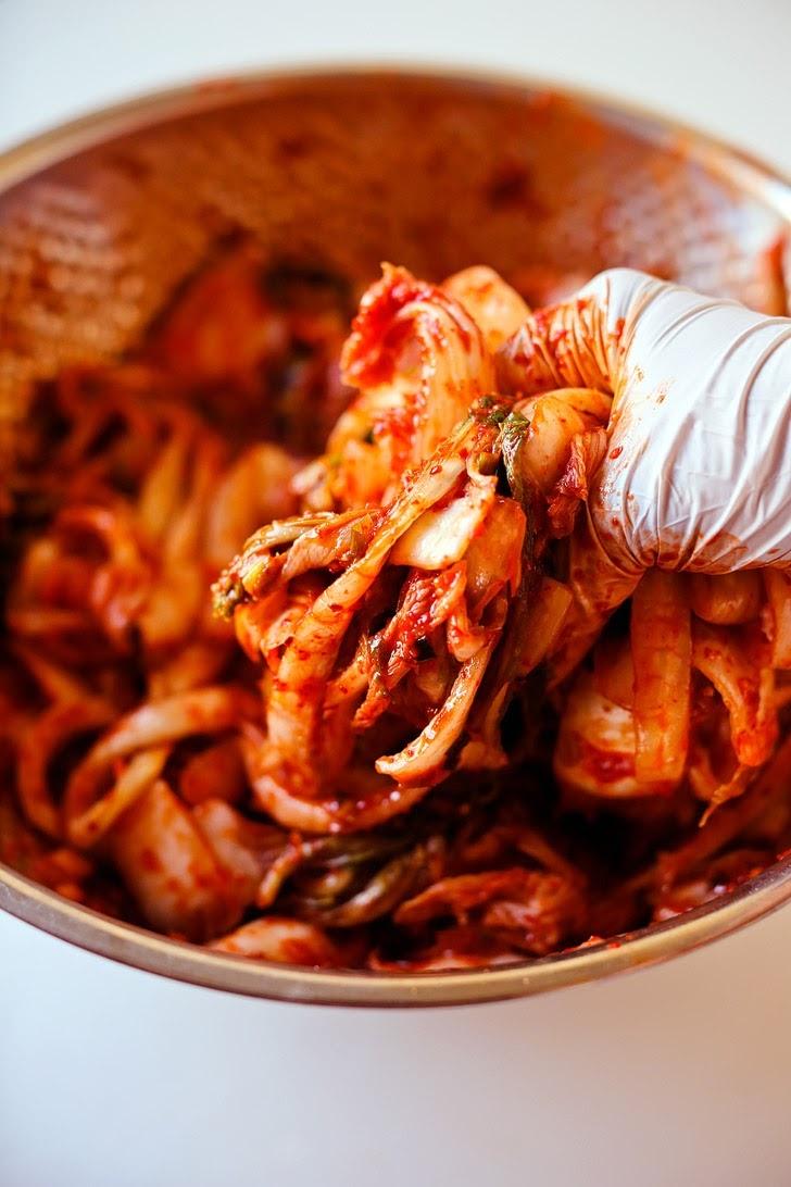 Mom's Korean Kimchi Recipe.