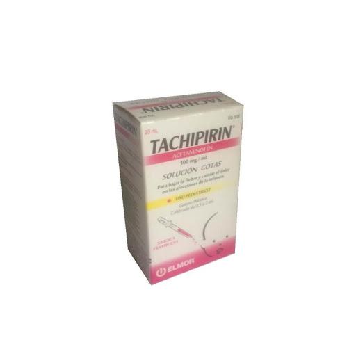 Acetaminofen Tachipirin 100 Mg/Ml Solución Gotas 30Ml Elmor