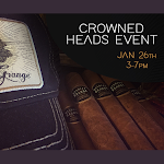 Special Crowned Heads Event 1/26/19