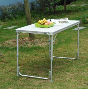 Masuta pliabila picnic din aluminiu 60 x 120 cm