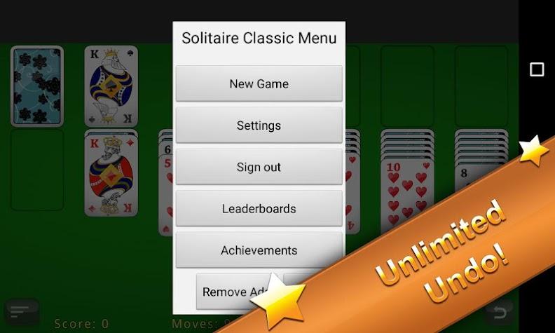 Solitaire Classic Screenshot