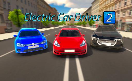 Télécharger Electric Car Driver 2 : Real Modern Car Driving APK MOD (Astuce) screenshots 1