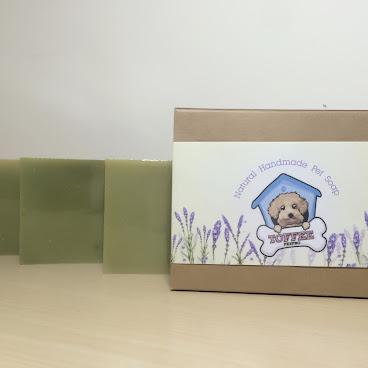 Toffee PetPro天然手工寵物皂 (薰衣草味) (送竹炭起泡袋)