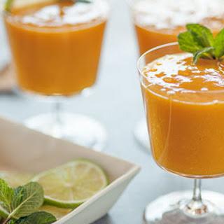 Triple Mango Dessert Smoothie.