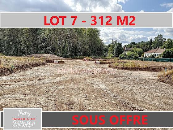 Vente terrain 312 m2
