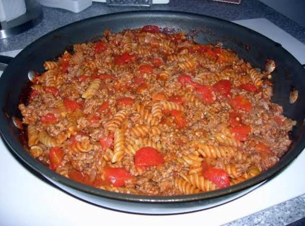 Quick & Easy Hamburger Goulash
