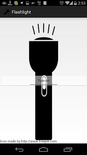 Super Bright LED Flashlight D screenshot 1