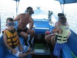 Bali boat to turtle island