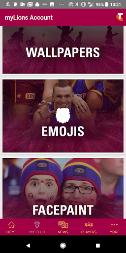 Brisbane Lions Official App app (apk) free download for Android/PC/Windows screenshot