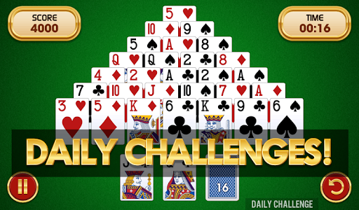 Pyramid Solitaire Challenge  screenshots 3