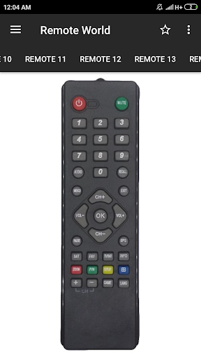 dd free dish remote control (36 in 1) screenshot 3
