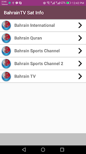 Bahrain TV channels (Sat info) provides FREE - náhled