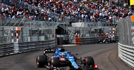 Decepción para Fernando Alonso y Alpine en el GP de Monaco