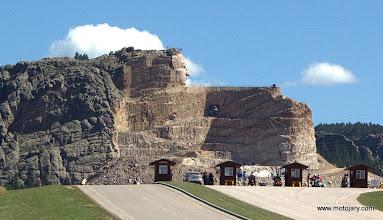 Photo: Crazy Horse (w budowie)